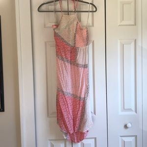 Tommy Bahama midi halter dress